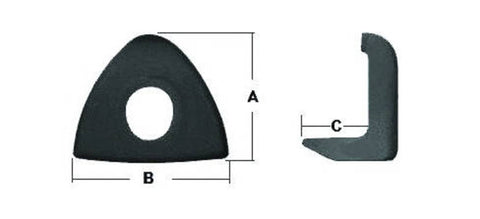 F286635 | E5572A  WHEEL CLAMP 13-4006Q