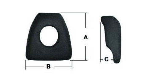 F286636 | E5890  WHEEL CLAMP  13-5009