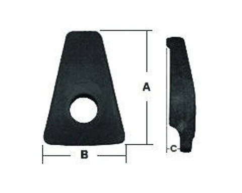 F286638 | E5902  WHEEL CLAMP  13-5014