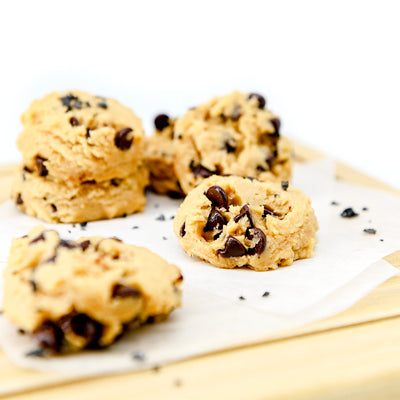 SEA SALT CHOCOLATE CHIP COOKIE DOUGH