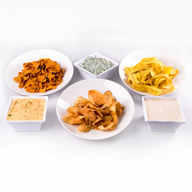 CHIPS AND DIPS PARTY PLATTER