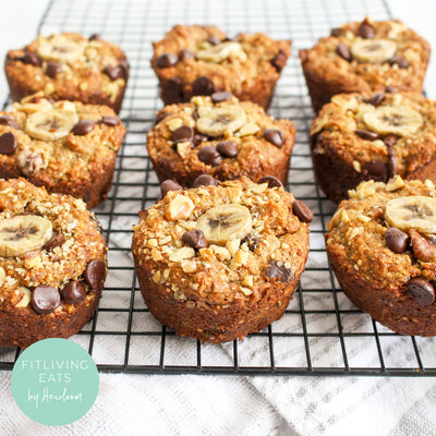SUPERFOOD BANANA BREAD MUFFIN