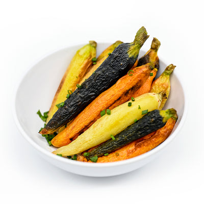 Heirloom Carrots Side