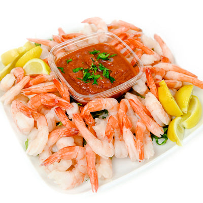 CLASSIC CHILLED JUMBO SHRIMP PLATTER