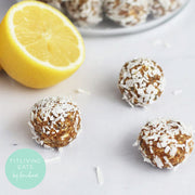 Zesty Lemon Energy Bites