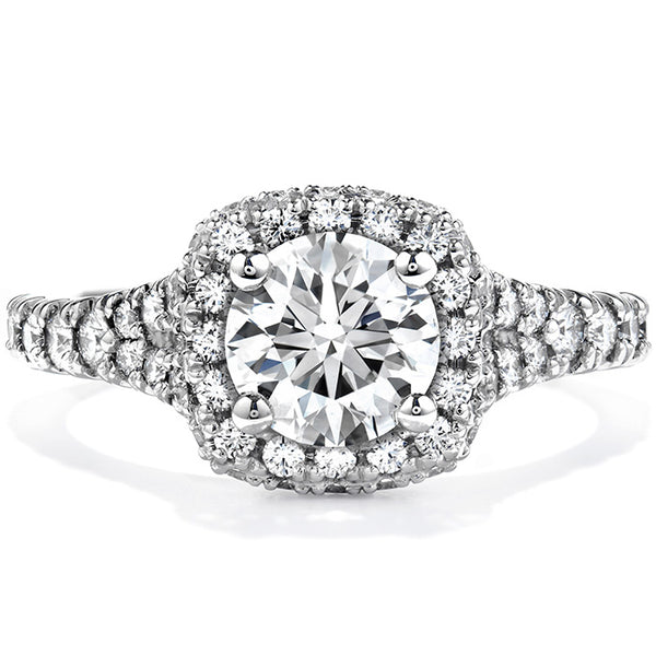 0.75 ctw. Acclaim Engagement Ring in 18K White Gold