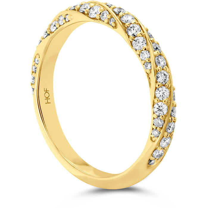 0.5 ctw. Atlantico Pave Band in 18K White Gold