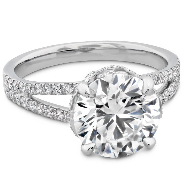 The Austen Diamond Ring in Platinum