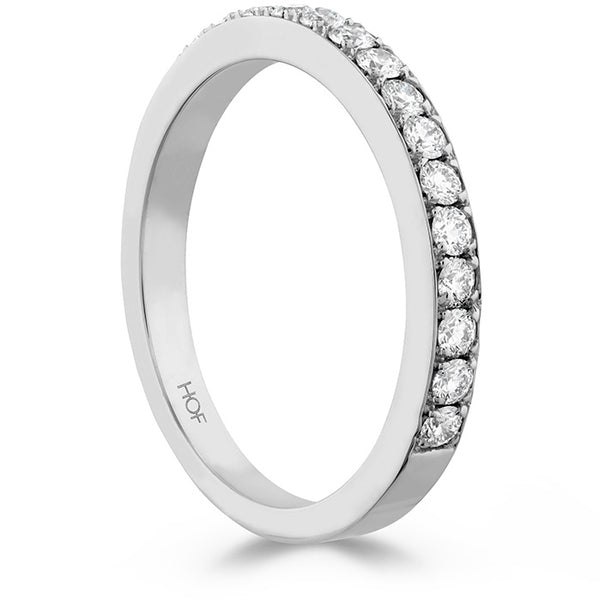 0.35 ctw. Beloved Band to match Open Gallery in 18K White Gold