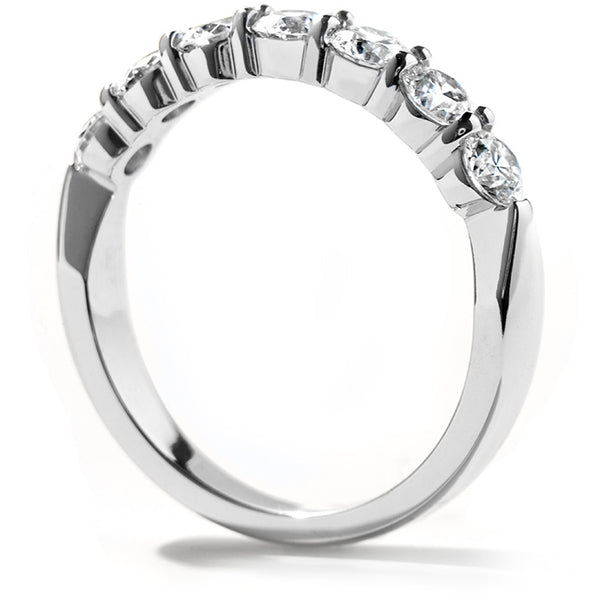 0.33 ctw. Seven-Stone Band in 18K White Gold