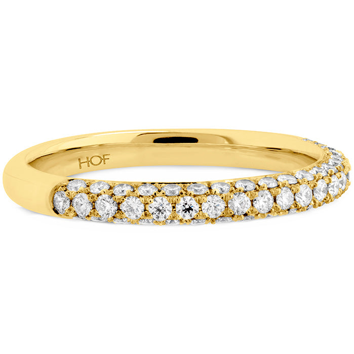 0.45 ctw. Euphoria Pave Band in 18K White Gold