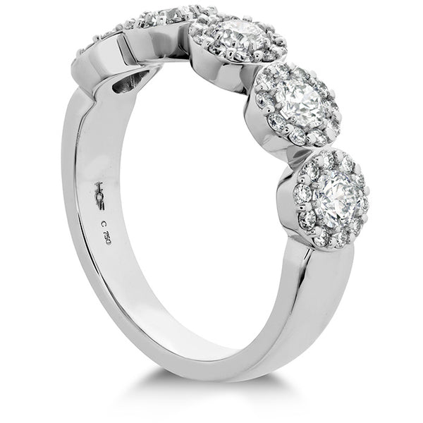 0.85 ctw. Fulfillment Round Band in 18K White Gold