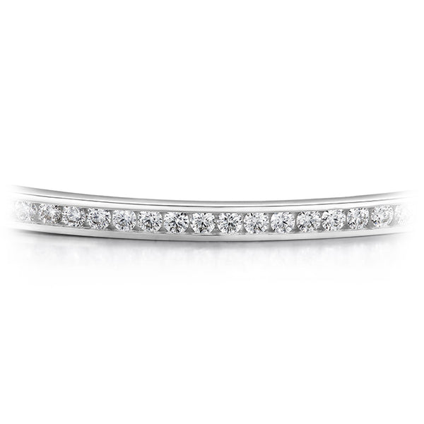 1.2 ctw. HOF Classic Channel Set Bangle - 210 in 18K White Gold