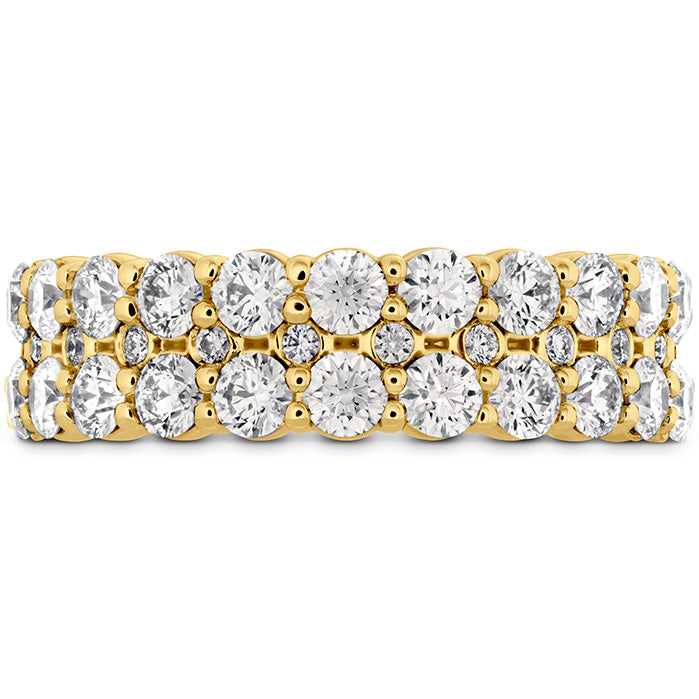 1.8 ctw. HOF Classic Double Row Band in 18K White Gold