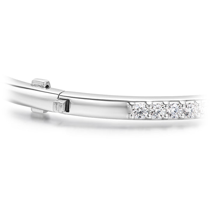 1.1 ctw. HOF Classic Prong Set Bangle - 210 in 18K White Gold