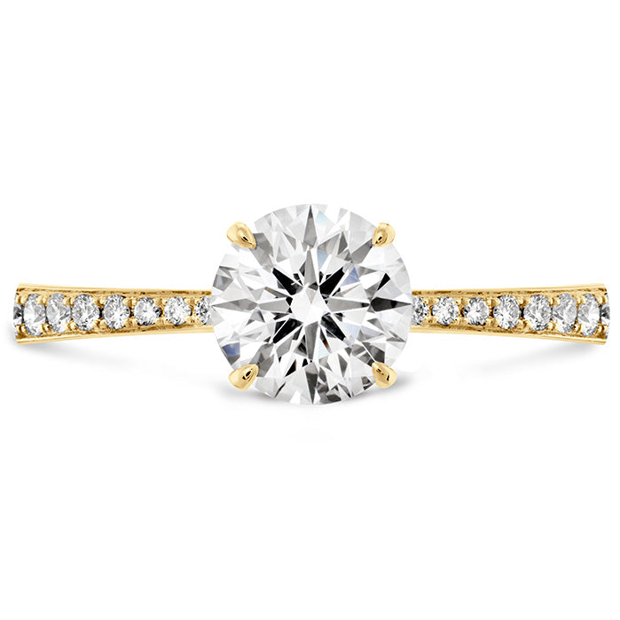 0.1 ctw. HOF Signature Engagement Ring-Diamond Band in 18K White Gold