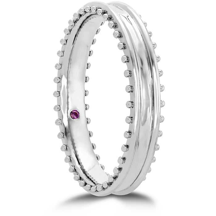 Sloane Picot Keep it Classic Metal Band in 18K White Gold
