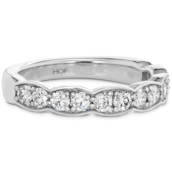 0.7 ctw. Lorelei Floral Diamond Band Large in 18K White Gold