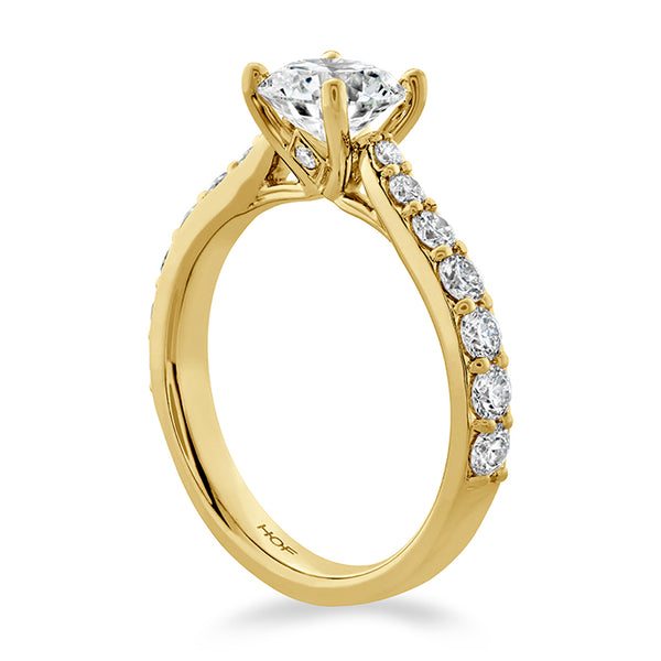 0.66 ctw. Luxe Camilla HOF Diamond Ring in 18K White Gold