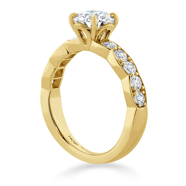 0.59 ctw. Luxe Lorelei Floral Diamond Ring in 18K White Gold