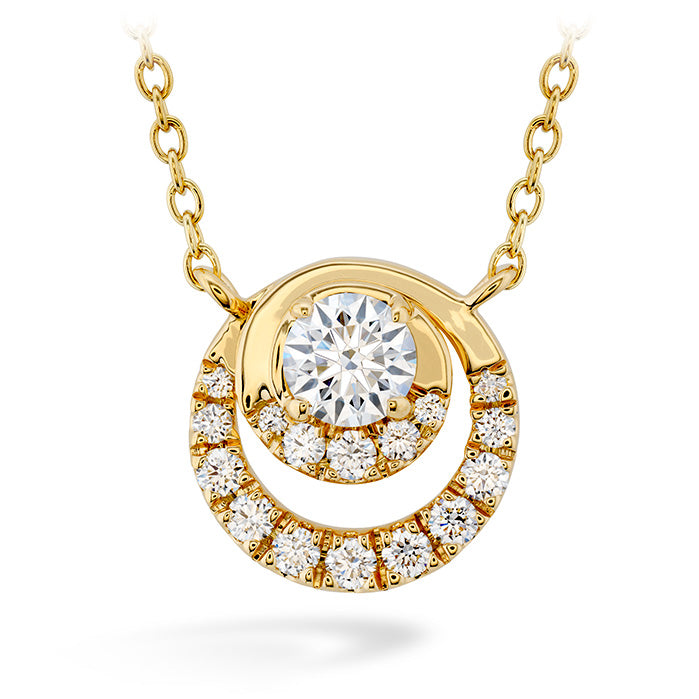 0.38 ctw. Optima Pendant in 18K White Gold