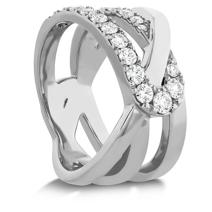 0.65 ctw. Optima Wrap Ring in 18K White Gold