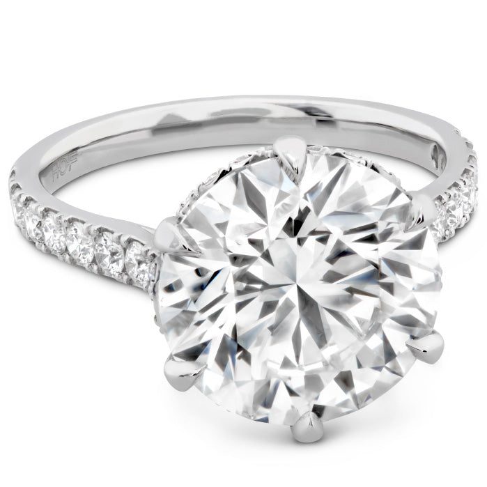 The Primrose Diamond Ring in Platinum