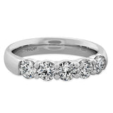 0.25 ctw. Signature 5 Stone Band in 18K White Gold