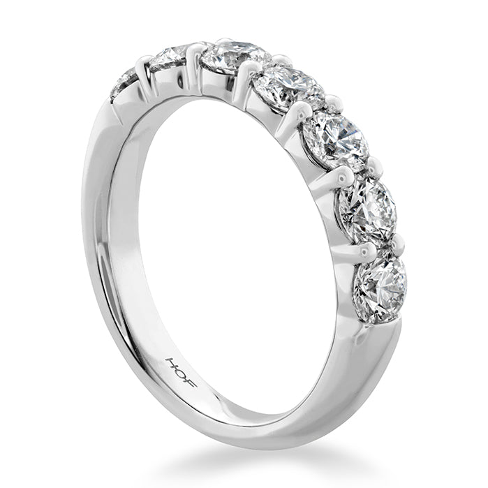 0.5 ctw. Signature 7 Stone Band in 18K White Gold