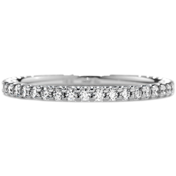 0.3 ctw. Simply Bridal Wedding Band in 18K White Gold
