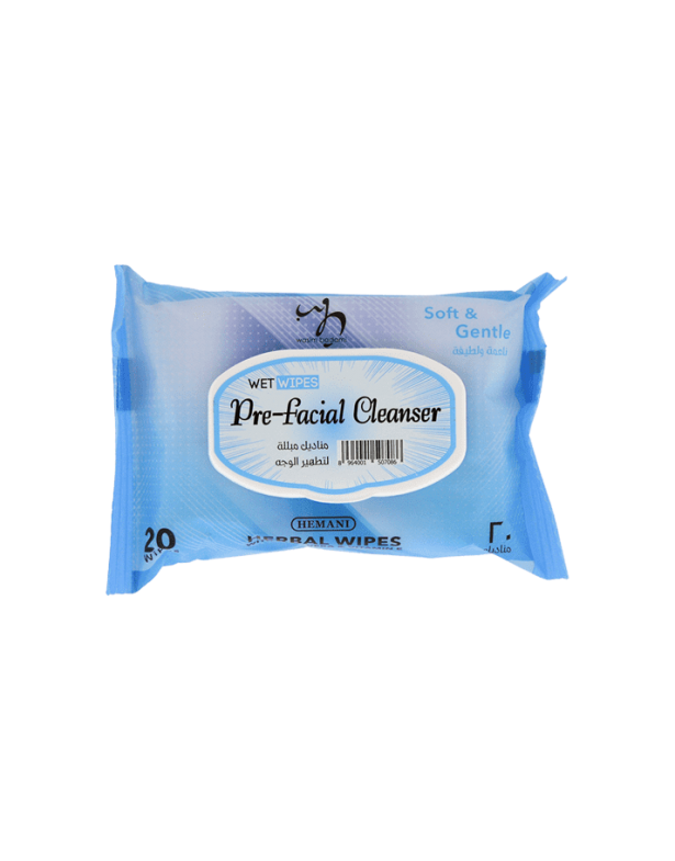 Pre-facial Cleanser Wet Wipes