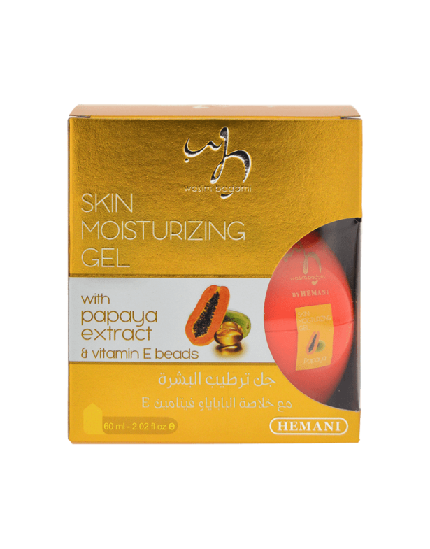 Papaya and Vitamin E Skin Moisturizing Gel