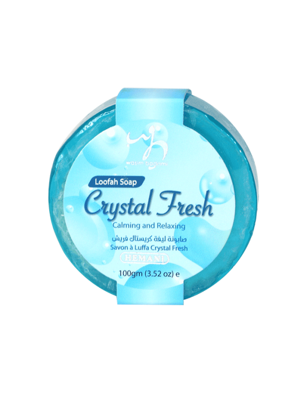 Crystal Fresh-Loofah Soap 100gm