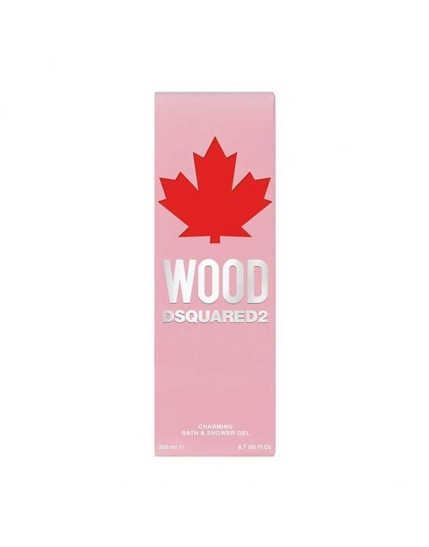 Dsquared2 Wood D2 Pour Femme Charming Bath & Shower Gel Tube 200 ml