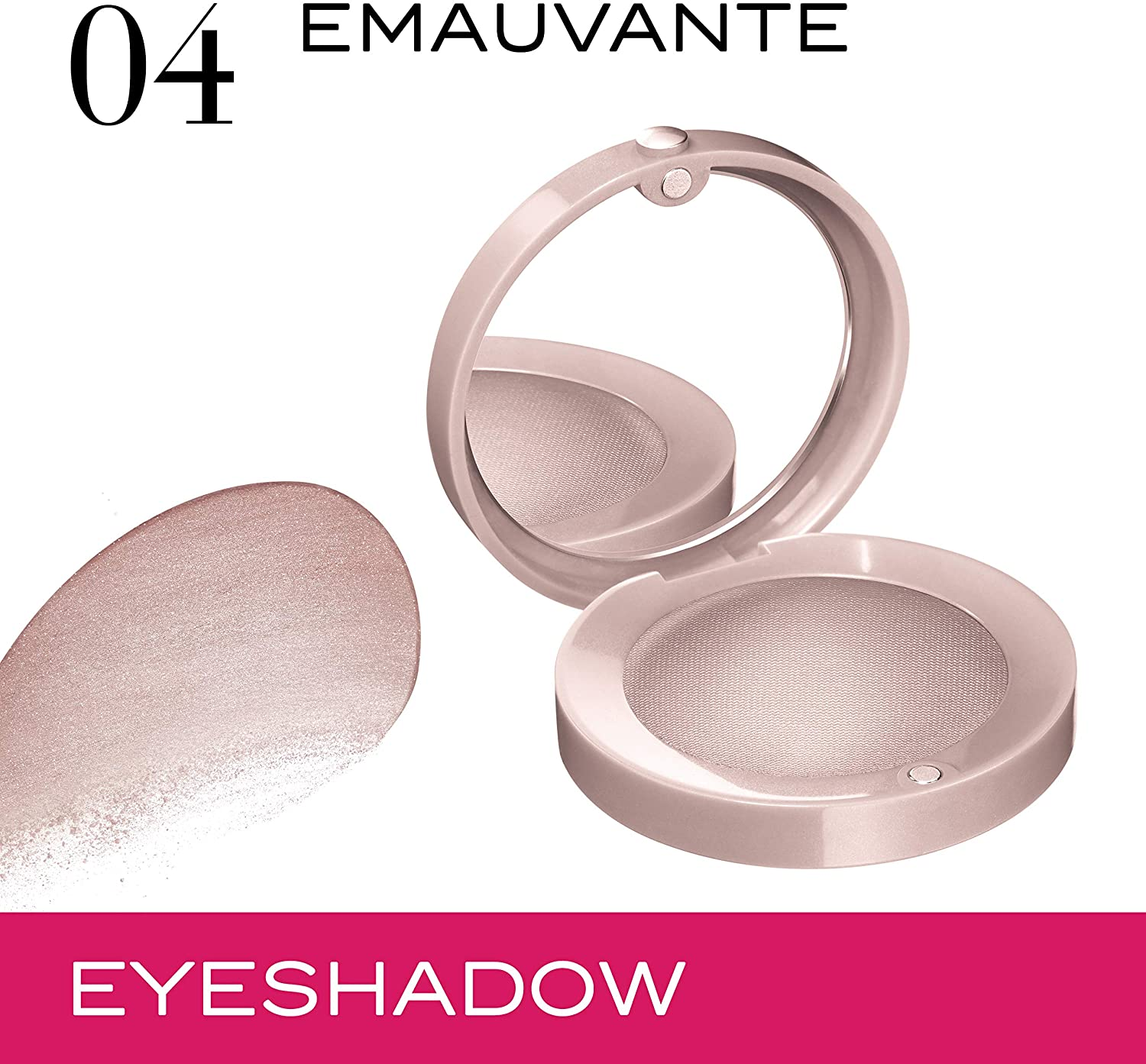 Bourjois, Little Round Pot. Eyeshadows 1.7g -04 Emauvante