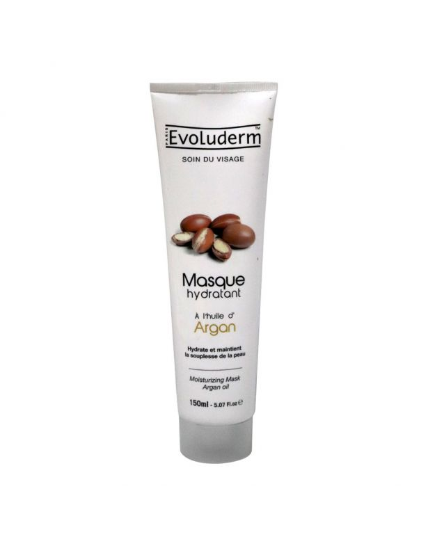 Evoluderm Moisturizing Facial Mask with Argan Oil - 150ml