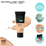 MAYBELLINE FIT ME MATTE & PORELESS FOUNDATION 30ml -120 - Classic Ivory