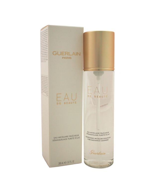 Guerlain Secret De Purete Cleanser EAU DE BEAUTE MICELLAIRE Water 200 Ml