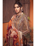 3 PC Unstitched Twill Linen Suit with Pashmina Shawl AP-35