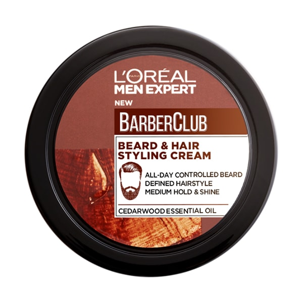L'Oreal Men Expert - Barber Club Beard & Hair Styling Cream - 75ml