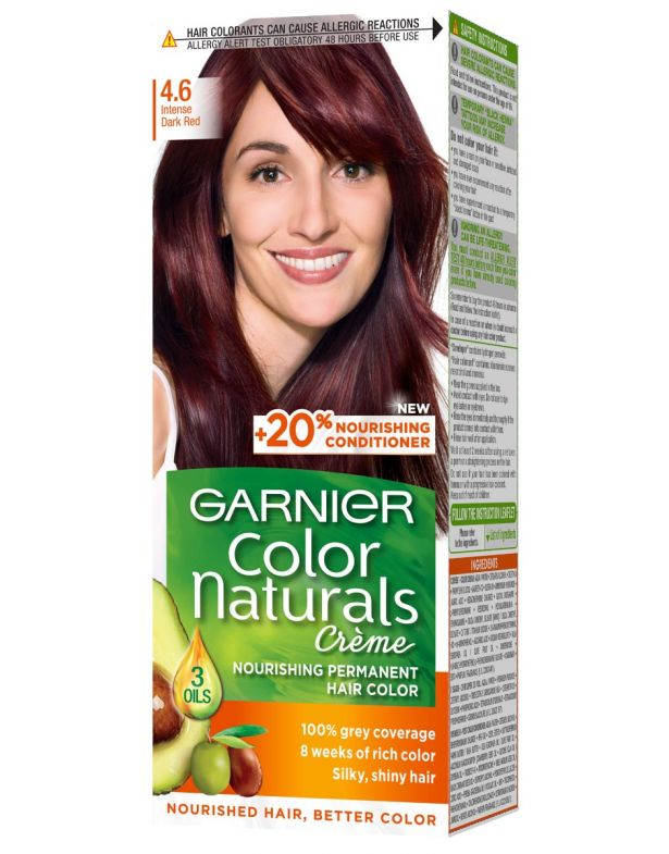 Garnier Color Naturals No. 4.6 Burgundy Red Hair Color
