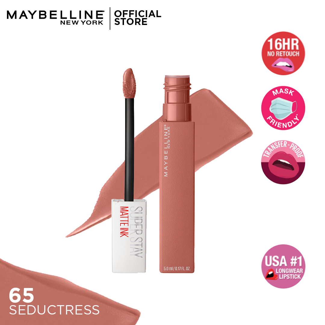 Maybelline Superstay Matte Ink Liquid Lipstick -65 - Seductress