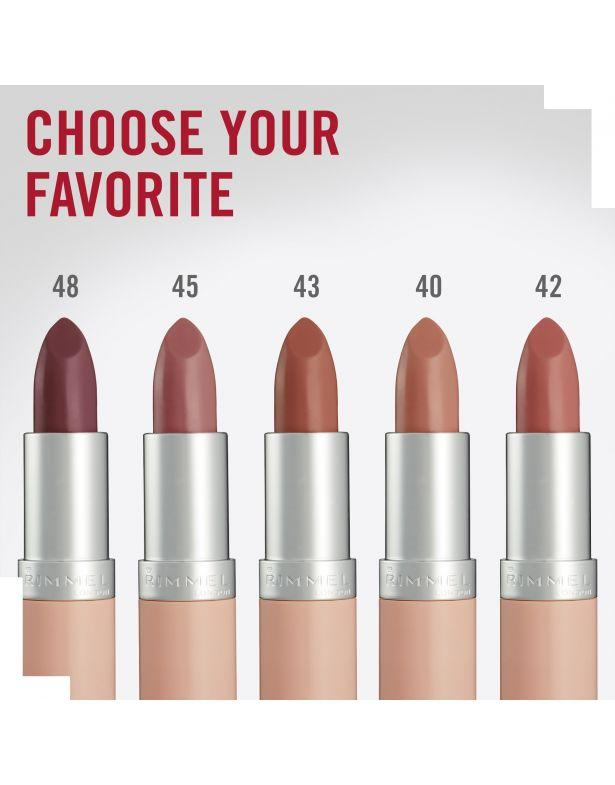 Rimmel London, Lasting Finish Lipstick, Nude Collection -43 Tan Nude