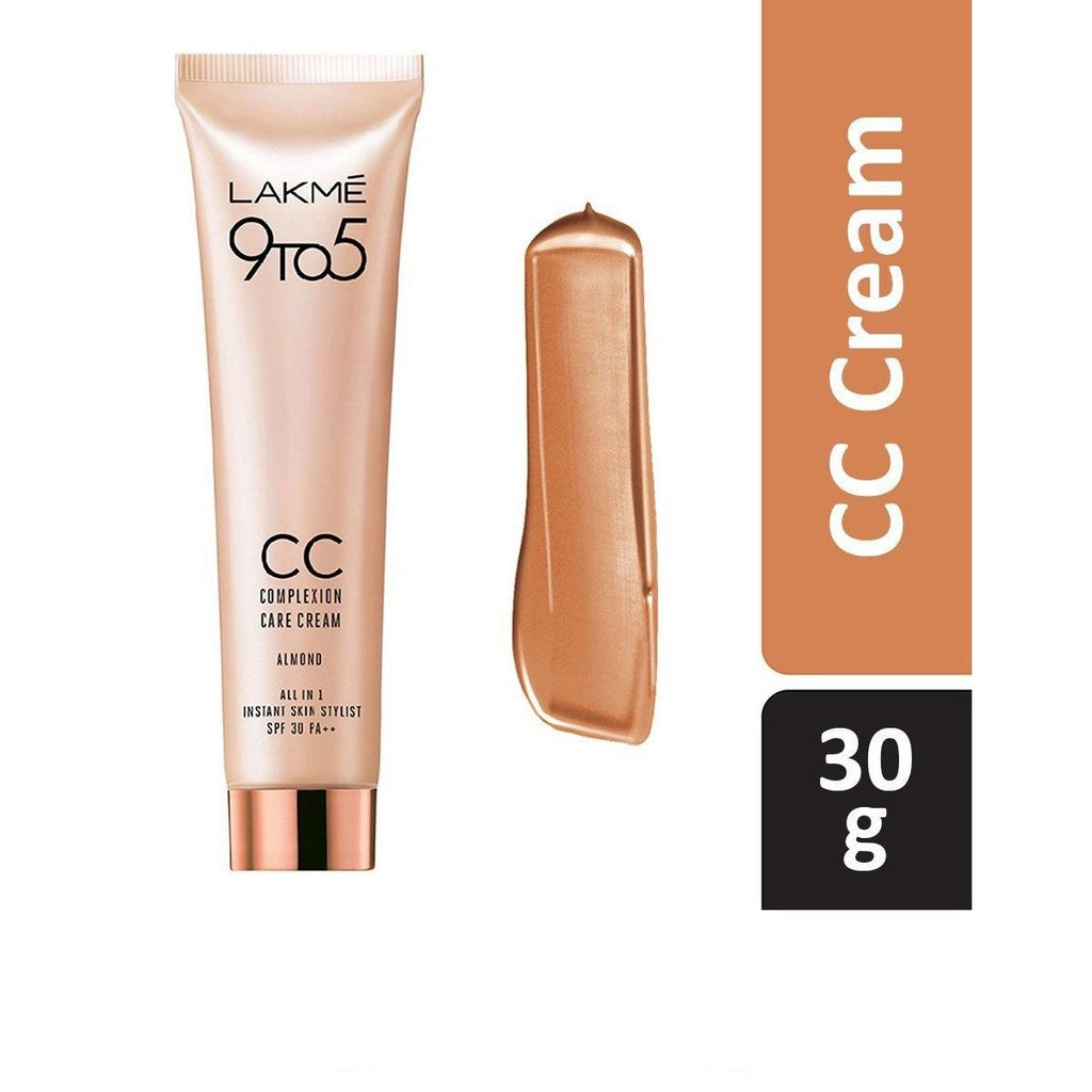 Lakme -  9 to 5 Complexion Care Cream - Almond 30gm