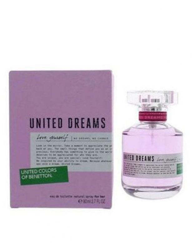 Benetton Love Yourself EDT Spray