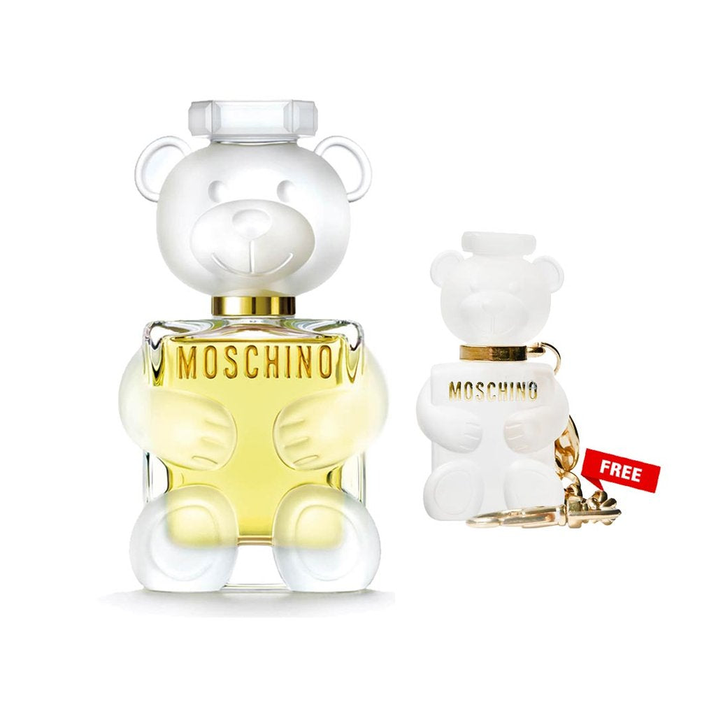 Moschino Toy2 Eau De Spray 30ml + Moschino Toy 2 Key Chain