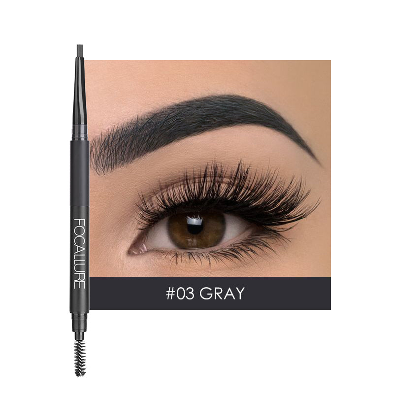3 In 1 Auto Brows Pencil - #3 Gray