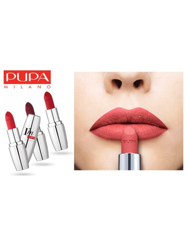 Pupa I'M Matt - Pure Color Lipstick Total Matte