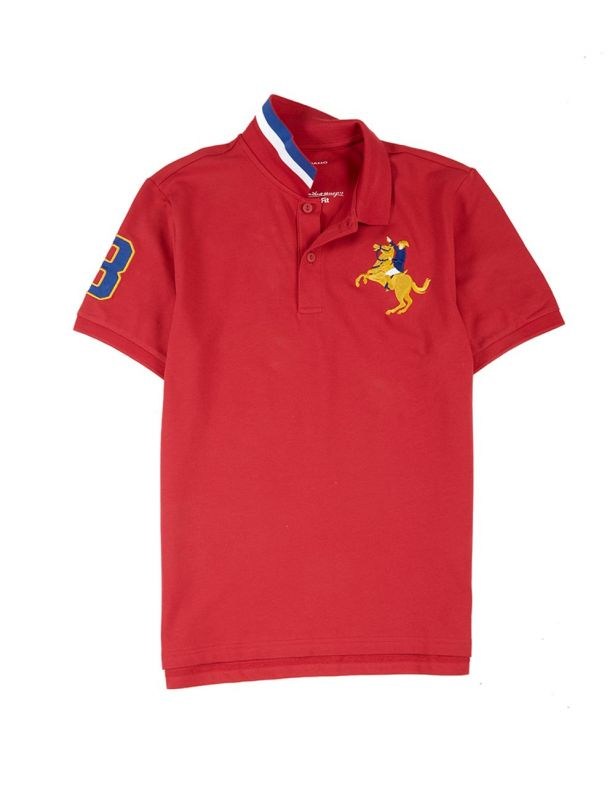 Polo Shirt - Sign Red - Medium