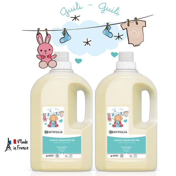 [READY STOCK] Twin Pack - Centifolia Organic Laundery Detergent Neutral - 1.5L x 2